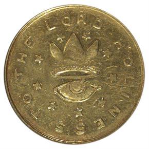 1850 MORMON $5 MS reverse