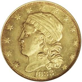 1833 BD-1 $2.5 MS obverse