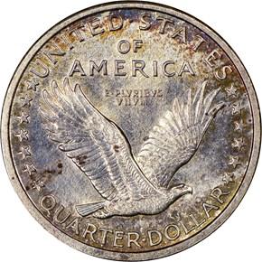 1917 S TYPE 1 25C MS reverse