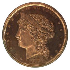 1878 J-1555 S$1 PF obverse