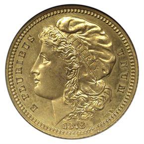 1878 J-1578 GILT $5 PF obverse