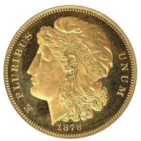 1878 J-1581 $10 PF obverse