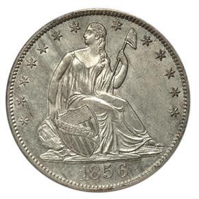 1856 S 50C MS obverse