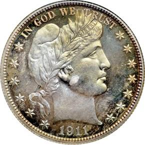 1911 50C PF obverse