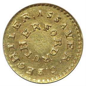 (1831-34) C.BECHTLER 20C, NO 75G, BEADED $2.5 MS reverse