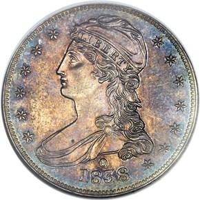 1838 O 50C PF obverse