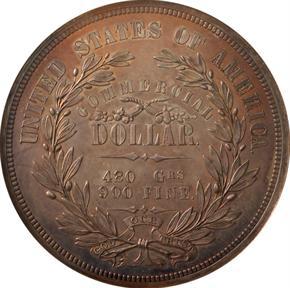 1871 J-1155 T$1 PF reverse