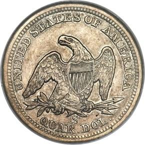 1859 S 25C MS reverse