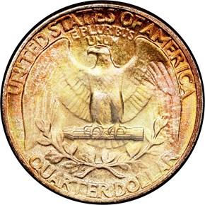 1943 25C MS reverse