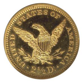 1891 $2.5 PF reverse