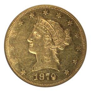 1879 CC $10 MS obverse