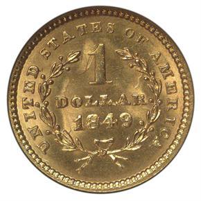 1849 G$1 MS reverse