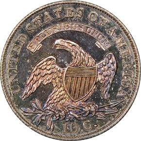 1835 10C PF reverse