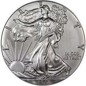 2017 EAGLE S$1 MS obverse