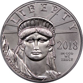 2018 Eagle P$100 MS obverse