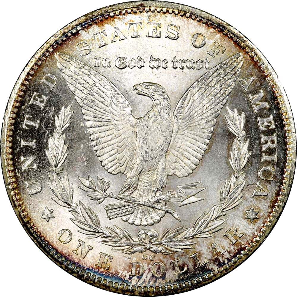1878 Cc S 1 Ms Morgan Dollars Ngc