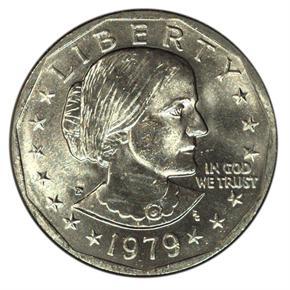 1979 P $1 MS obverse
