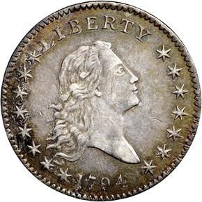 1794 50C MS obverse