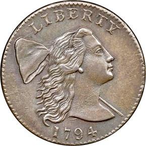 1794 1C MS obverse