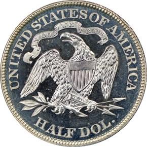 1881 50C PF reverse