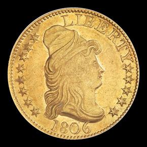 1806 $5 MS obverse