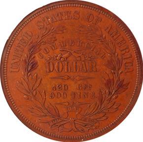 1871 J-1157 T$1 PF reverse
