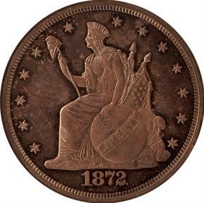 1872 J-1209 S$1 PF obverse