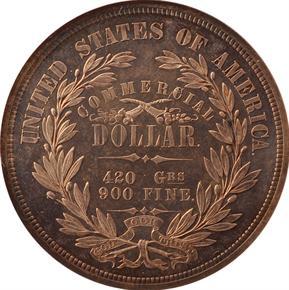 1872 J-1215 T$1 PF reverse
