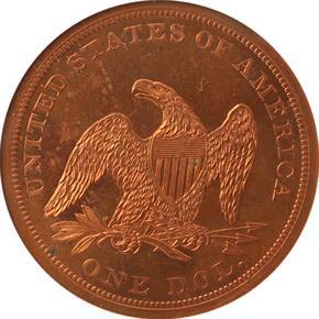 1875 J-1421 T$1 PF reverse