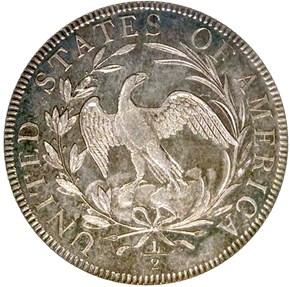 1796 15 STARS O-101 50C MS reverse