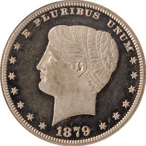 1879 J-1634 S$1 PF obverse