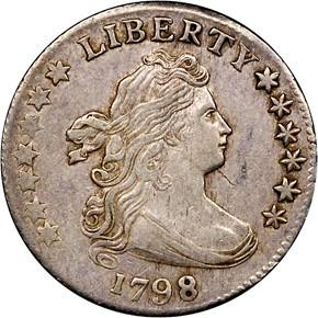 1798 10C MS obverse