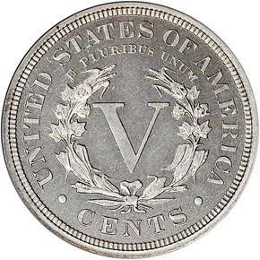 1913 LIBERTY 5C PF reverse