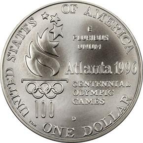 1996 D OLYMPICS HIGH JUMP S$1 reverse