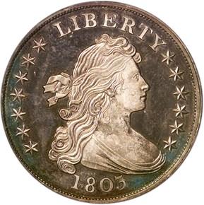 1803 BB-303,B-7 $1 PF obverse