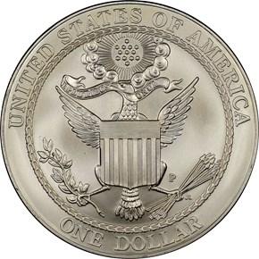 2008 P BALD EAGLE S$1 MS reverse