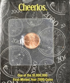 2000 CHEERIOS PROMOTION 1C MS obverse
