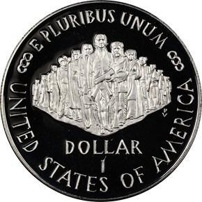 1987 S CONSTITUT S$1 PF reverse