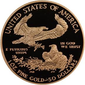 2012 W EAGLE G$50 PF reverse