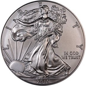 2015 EAGLE S$1 MS obverse
