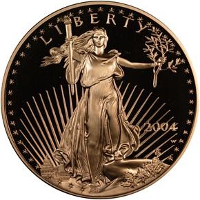 2004 W EAGLE G$50 PF obverse