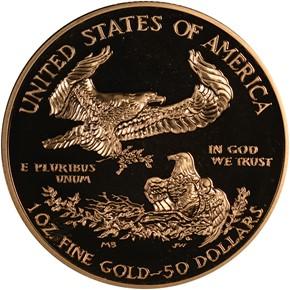 2004 W EAGLE G$50 PF reverse