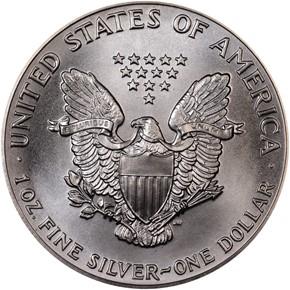 1989 EAGLE S$1 MS reverse