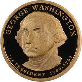 2007 S GEORGE WASHINGTON $1 PF obverse