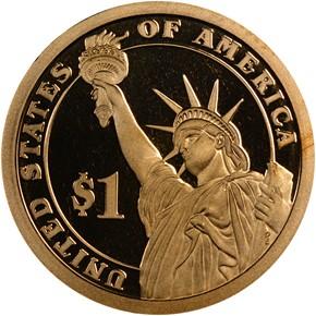 2007 S JOHN ADAMS $1 PF reverse