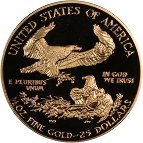 1992 P EAGLE G$25 PF reverse