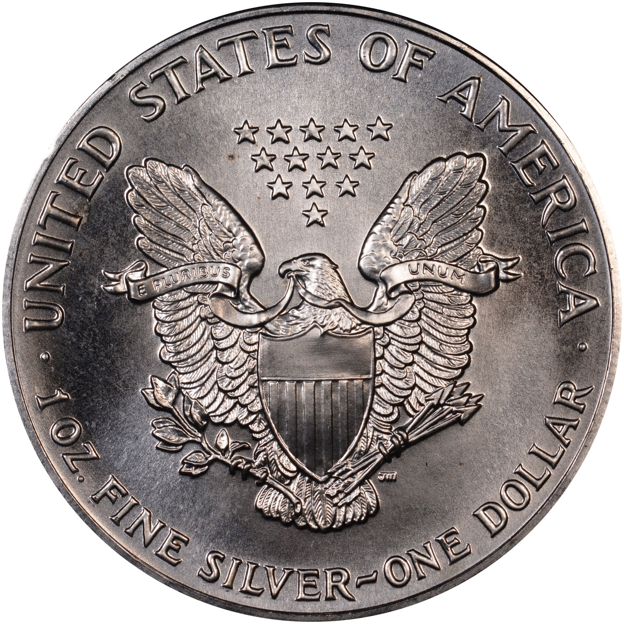 1990 Eagle S$1 MS Silver Eagles | NGC