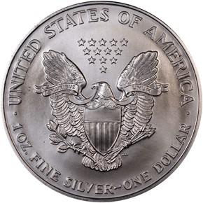 1999 EAGLE S$1 MS reverse