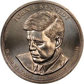 2015 P JOHN F. KENNEDY $1 MS obverse