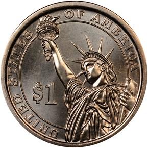 2015 P JOHN F. KENNEDY $1 MS reverse